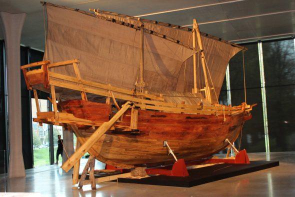 Europalia Indonesien - Typisches Segelboot