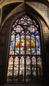 Liège-Cathédrale-Vitrail L.d'Oultres