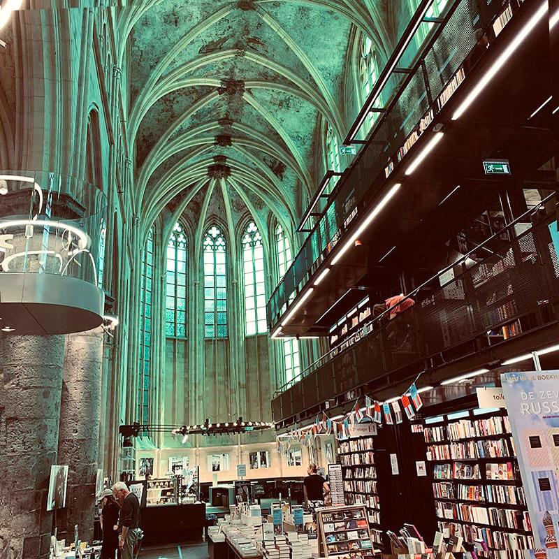 Modernes und Historisches in Maastricht