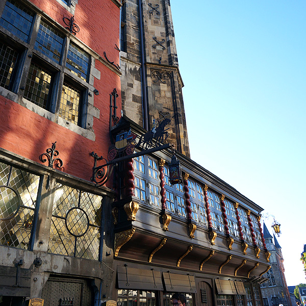 Stadtführung durch Aachens Altstadt